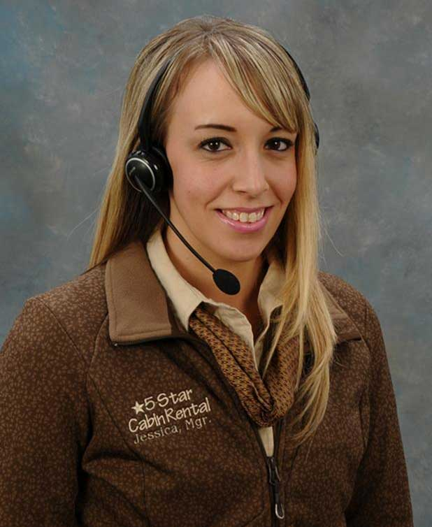 Jessica - Licensed Real Estate Agent - 5 Star Cabin Rental
