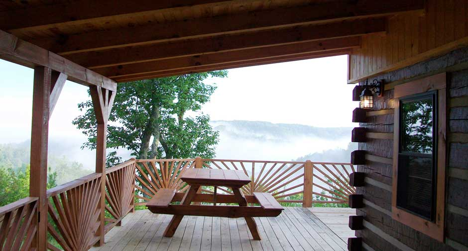 Red River Gorge Natural Bridge Cabin Rental 5 Star