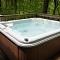 roomy hot tub