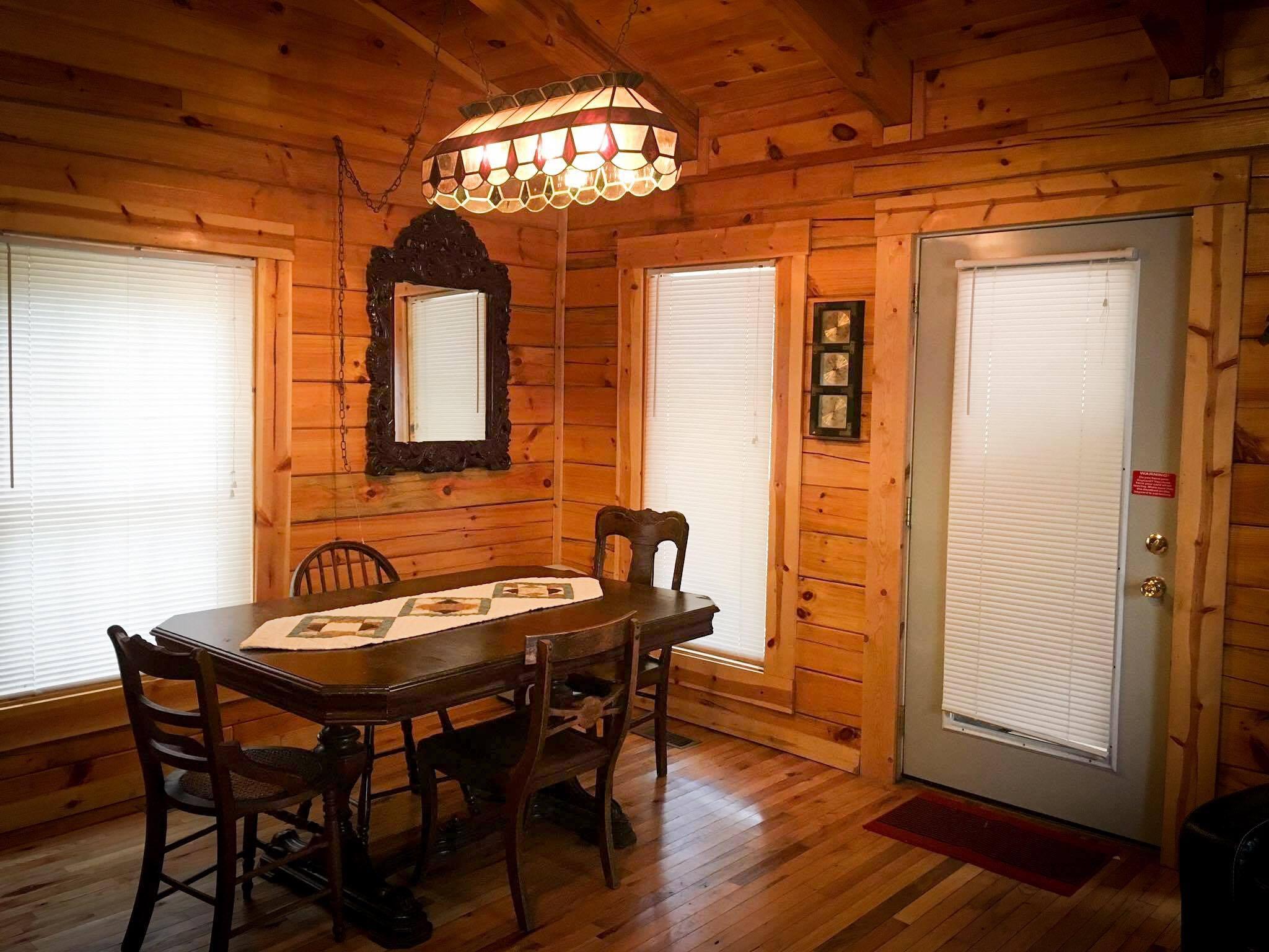 Peaceful Palace Living Room Table at Natural Bridge