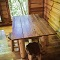 charming table and stools for four