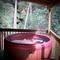 Peaceful Palace Hot Tub at Natural Bridge thumb