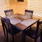 cabin dining set with place mats