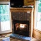 a gas fireplace frees up more time for leisure activities