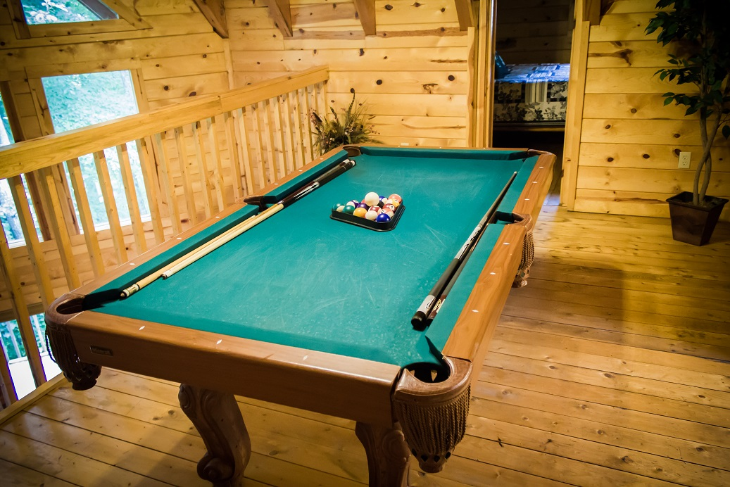 end the day with a leisure game of pool