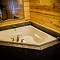 5 star cabin rental Jacuzzi tub