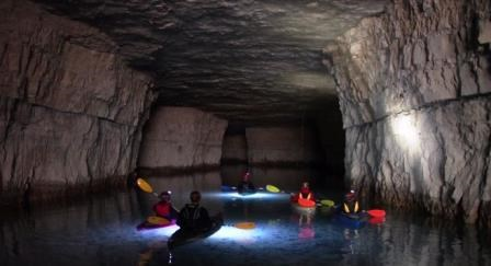 Underground Kayaking